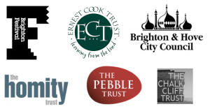 Brighton Festival, Homity Trust, The Pebble Trust, The Chalk Cliff Trust